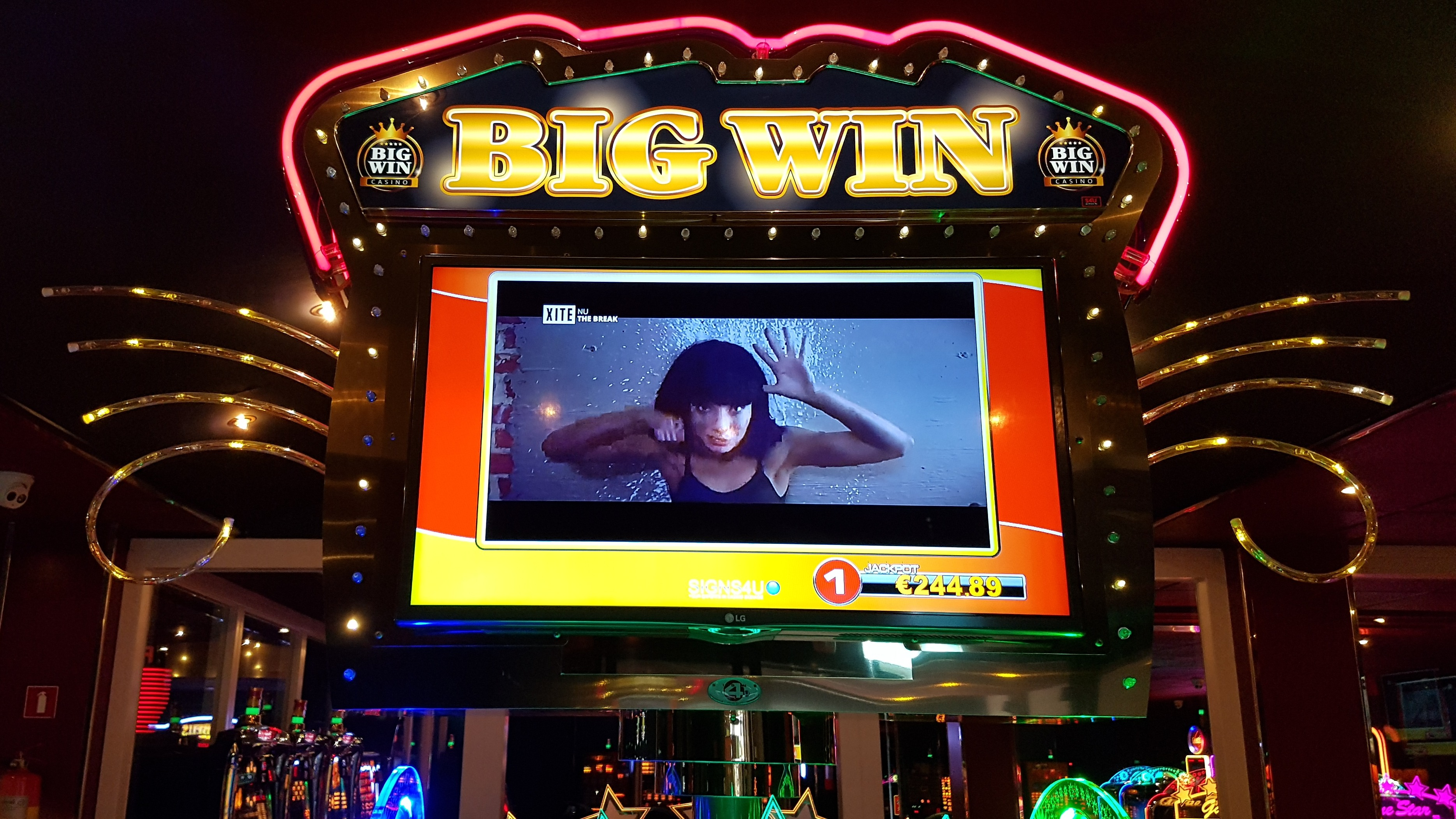 Big wins at casino