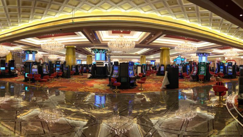 Corona Resort & Casino Phu Quoc Casino Floor overview